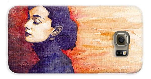 Audrey Hepburn 1 Galaxy S6 Case