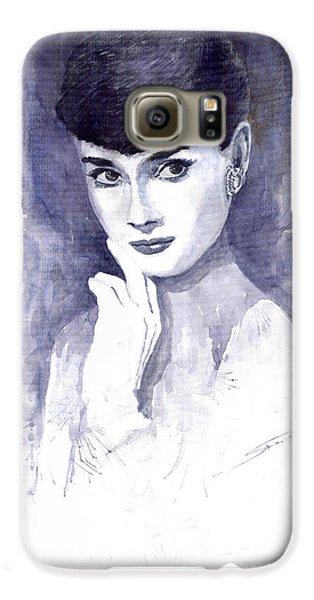 Audrey Hepburn  Galaxy S6 Case by Yuriy  Shevchuk