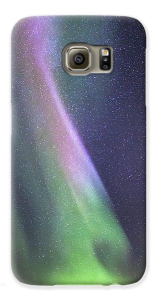Galaxy S6 Case featuring the photograph Aurora Abstract by Hitendra SINKAR