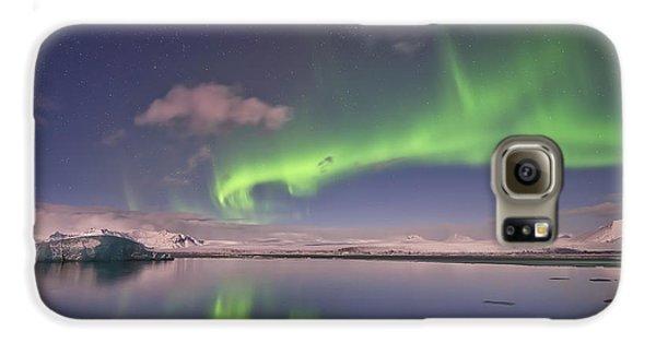 Aurora Borealis And Reflection #2 Galaxy S6 Case