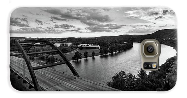 Austin 360 Pennybacker Bridge Sunset Galaxy S6 Case