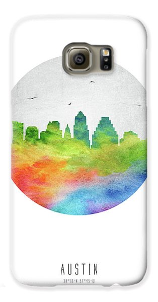 Austin Skyline Ustxau20 Galaxy S6 Case by Aged Pixel