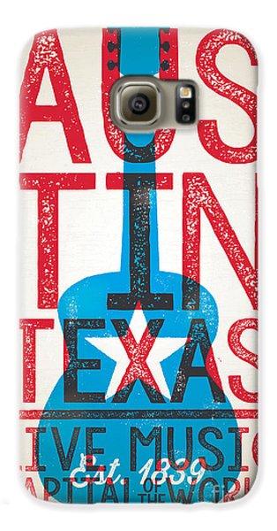 Austin Texas - Live Music Galaxy S6 Case