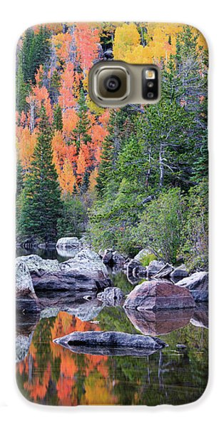 Galaxy S6 Case featuring the photograph Autumn At Bear Lake by David Chandler