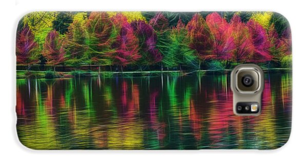 Autumn At Green Lake Seattle Galaxy S6 Case