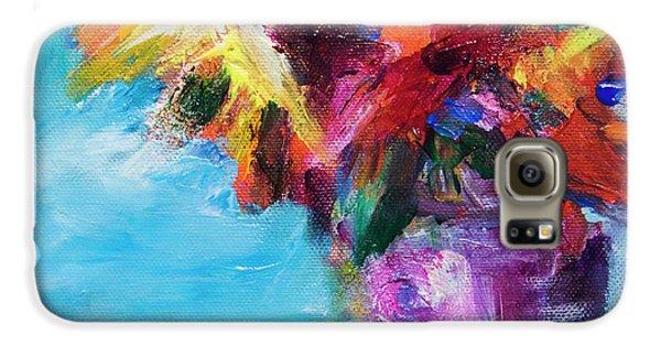 Colorful Flowers  Galaxy S6 Case by Yulia Kazansky