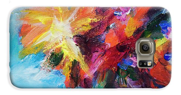 Colorful Flowers  Galaxy S6 Case