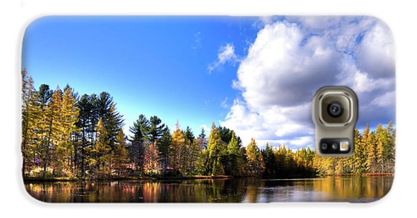 Galaxy S6 Case featuring the photograph Autumn Calm At Woodcraft Camp by David Patterson