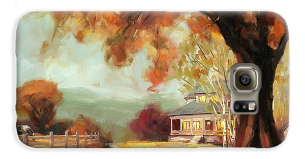 Goose Galaxy S6 Case - Autumn Dreams by Steve Henderson