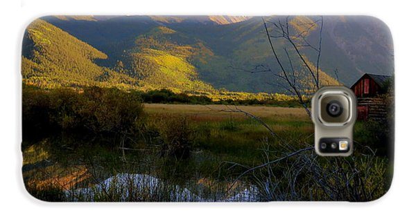 Galaxy S6 Case featuring the photograph Autumn Evening by Karen Shackles