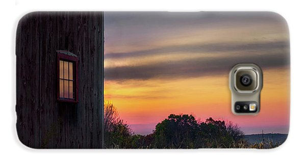 Galaxy S6 Case featuring the photograph Autumn Glow Square by Bill Wakeley