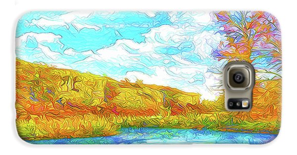 Autumn Lake Reflections - Park In Boulder County Colorado Galaxy S6 Case by Joel Bruce Wallach