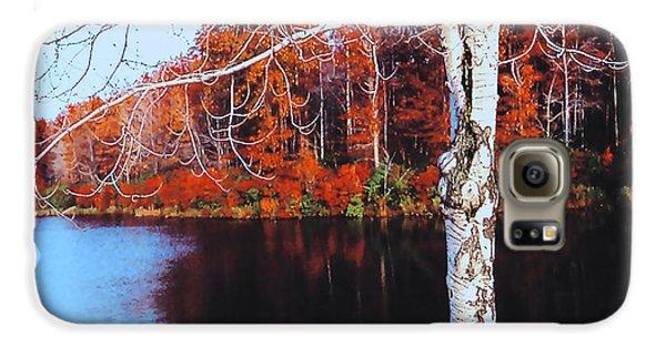Autumn Lake Galaxy S6 Case