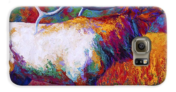 Bull Galaxy S6 Case - Autumn by Marion Rose