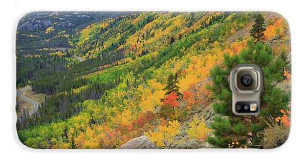Galaxy S6 Case featuring the photograph Autumn On Bierstadt Trail by David Chandler