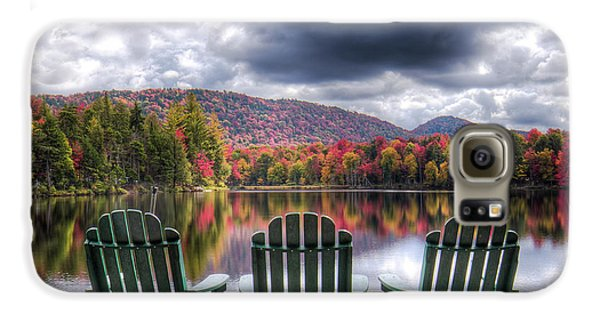 Galaxy S6 Case featuring the photograph Autumn On West Lake by David Patterson