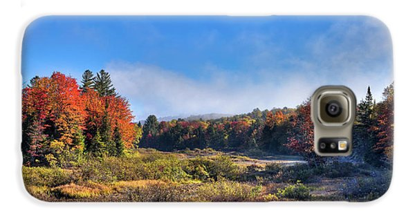 Galaxy S6 Case featuring the photograph Autumn Panorama At The Green Bridge by David Patterson