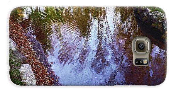 Autumn Reflection Pond Galaxy S6 Case