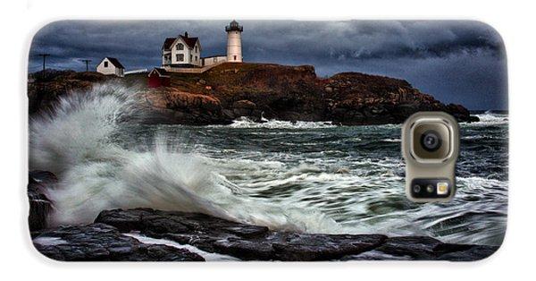 Autumn Storm At Cape Neddick Galaxy S6 Case