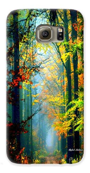 Autumn Trails In Georgia Galaxy S6 Case