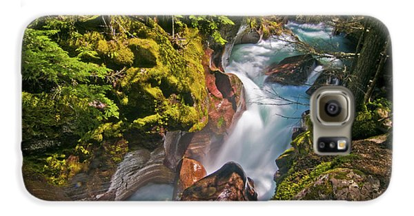 Galaxy S6 Case featuring the photograph Avalanche Gorge by Gary Lengyel