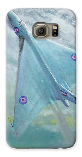 Avro Vulcan B1 Night Flight Galaxy S6 Case by Vincent Alexander Booth