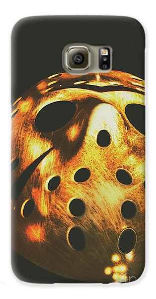 Hockey Galaxy S6 Case - B Grade Madness by Jorgo Photography - Wall Art Gallery