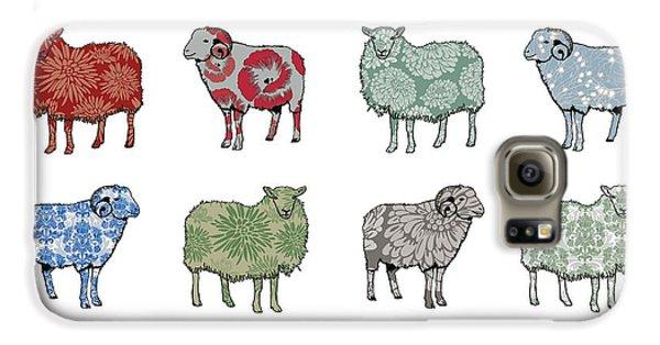 Sheep Galaxy S6 Case - Baa Humbug by Sarah Hough