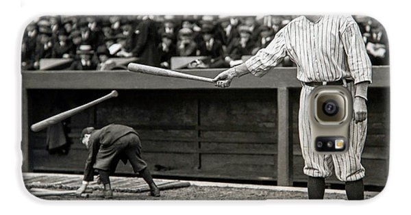 Babe Ruth At Bat Galaxy S6 Case