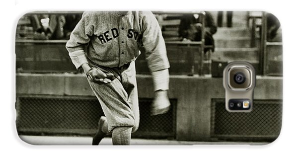 Babe Ruth Pitching Galaxy S6 Case