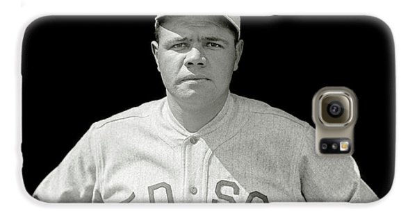 Babe Ruth Red Sox Galaxy S6 Case