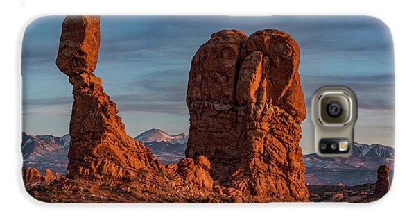 Galaxy S6 Case - Balanced Rock Sunset by Dan Norris