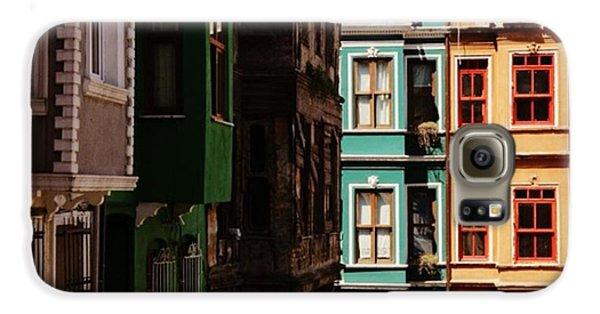 House Galaxy S6 Case - #balat #istanbul #eskibinalar #renkli by Ozan Goren