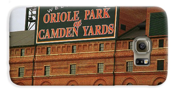 Oriole Galaxy S6 Case - Baltimore Orioles Park At Camden Yards by Frank Romeo