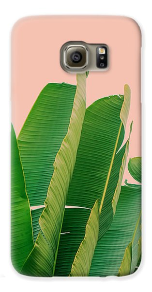 Banana Leaves Galaxy S6 Case by Rafael Farias