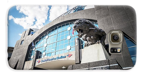 Bank Of America Stadium Carolina Panthers Photo Galaxy S6 Case by Paul Velgos