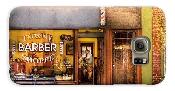 Barber - Towne Barber Shop Galaxy S6 Case