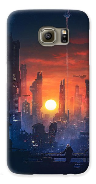 Barcelona Smoke And Neons The End Galaxy S6 Case