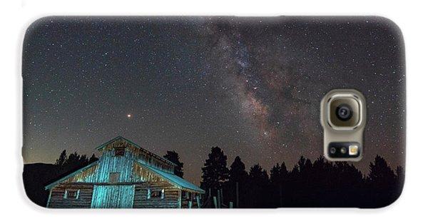 Barn In Rocky Galaxy S6 Case