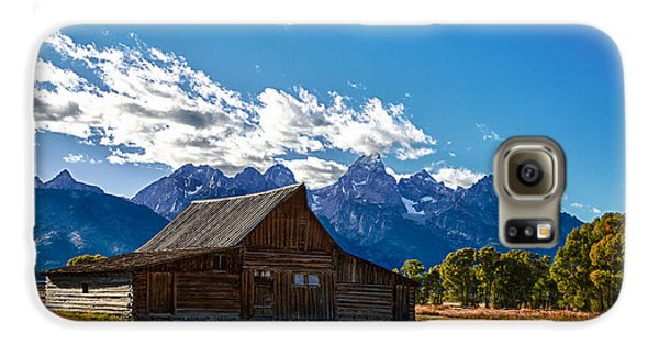 Barn On Mormon Row Galaxy S6 Case
