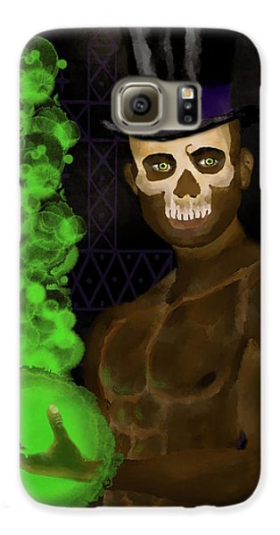 Voodoo Galaxy S6 Case - Baron Samedi by William Depaula