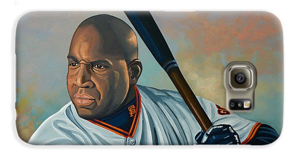 Barry Bonds Galaxy S6 Case by Paul Meijering