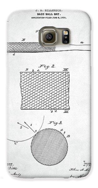 Baseball Bat Patent Galaxy S6 Case