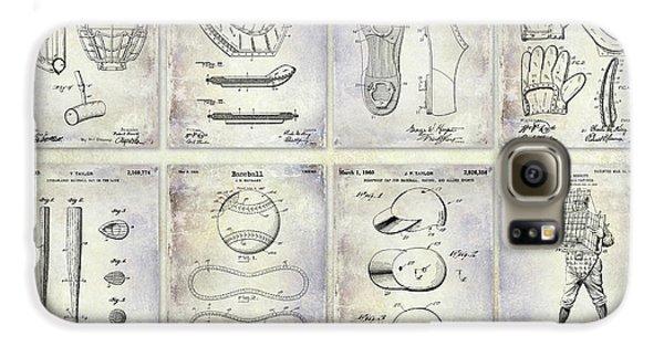 Oriole Galaxy S6 Case - Baseball Patent History by Jon Neidert