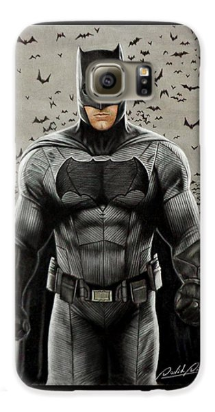 Batman Ben Affleck Galaxy S6 Case by David Dias