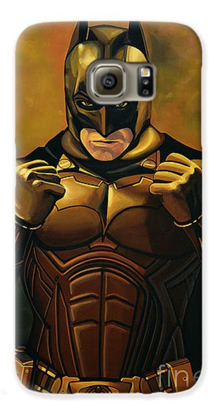Knight Galaxy S6 Case - Batman The Dark Knight  by Paul Meijering