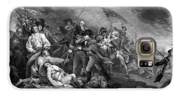 Boston Galaxy S6 Case - Battle Of Bunker Hill by War Is Hell Store