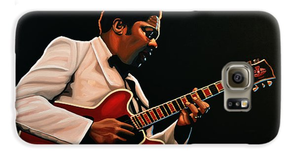 B. B. King Galaxy S6 Case by Paul Meijering