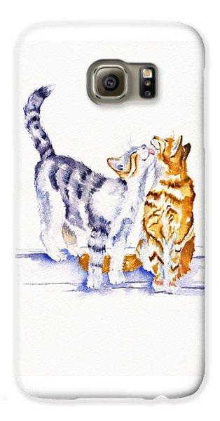 Cat Galaxy S6 Case - Be Cherished by Debra Hall