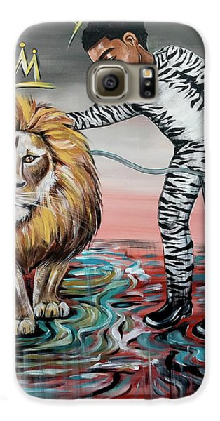 Galaxy S6 Case - Be Courageous My Son by Artist RiA